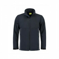Lemon & Soda heren softshell jas